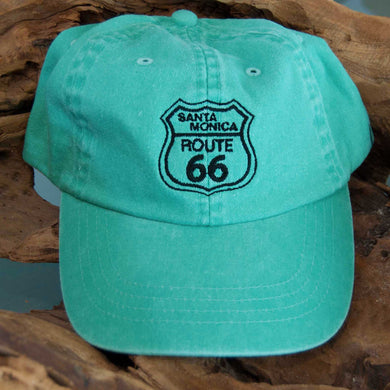 Route 66 Santa Monica Youth Hat - Turquoise