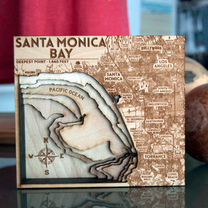 Santa Monica Bay Wood Carving