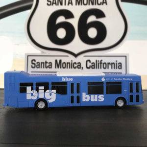 Santa Monica Big Blue Bus Toy Bus