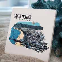 Santa Monica Coasters - Line Art