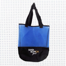Santa Monica Sheer Mesh Tote - Blue