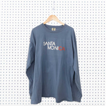 Santa Monica Standard Long Sleeve T-Shirt - Denim
