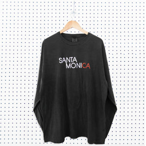 Santa Monica Standard Long Sleeve T-Shirt - Pepper