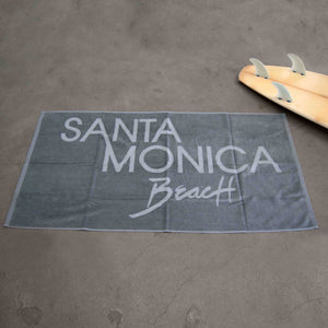 Santa Monica Beach Towel - Light Grey