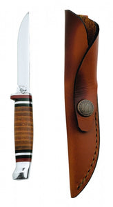 Case Leather Mini FINN Hunter with Leather Sheath No.00379 - Matarow