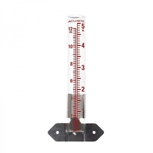 Acurite Rain Gauge - Glass - Matarow