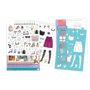Pretty Kitty Fashion Design Sketchbook - Matarow