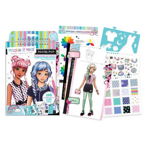 Pastel Pop! Fashion Design Sketchbook - Matarow