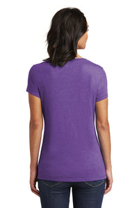 Heather Purple Tee