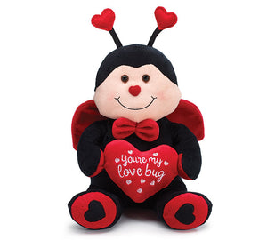 PLUSH YOU'RE MY LOVE BUG LADYBUG - Matarow