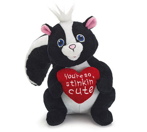 VALENTINE SKUNK PLUSH - Matarow