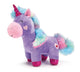 LAVENDER UNICORN WITH RAINBOW FUR TAIL - Matarow