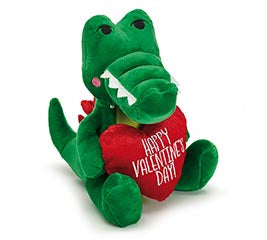 VALENTINE ALLIGATOR WITH RED HEART - Matarow