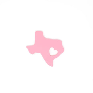 Three Hearts Modern Teething Accessories - Texas Silicone Teether - Matarow