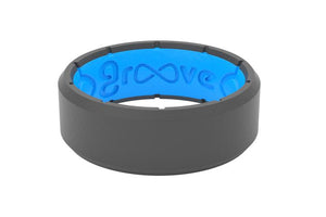 Groove Life EDGE DEEP STONE GREY Ring - Matarow