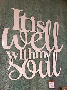 It is well with my Soul - Matarow