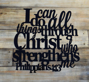 I Can Do All Things - Philippians 4:13 - Matarow