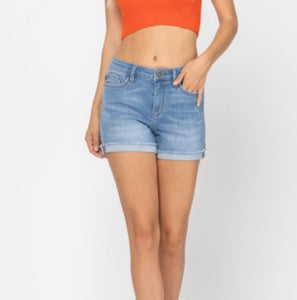 Judy Blue Cuffed Hem Shorts