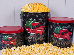 Panhandle Popcorn 3 1/2 Gallon Tree Farm Truck - 3 way Popcorn - Matarow