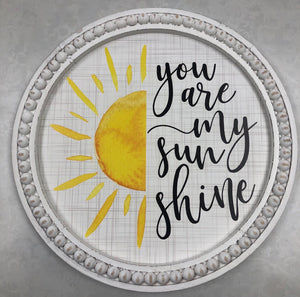 You are My Sunshine Wall Decor