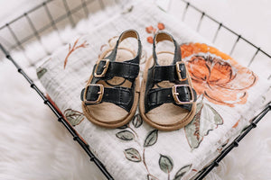 Little Love Bug Company - Black Charley Sandal - Matarow