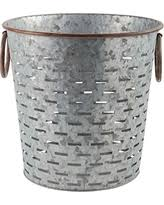 Punched Metal Olive Bucket - Matarow