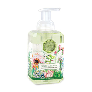 Michel Design Pink Cactus Foaming Hand Soap - Matarow