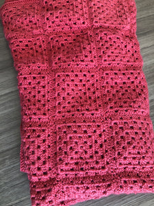 Hand Made Crocheted Blanket - Matarow