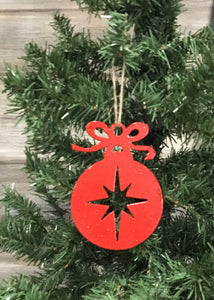 Round Ornament with Star - Matarow