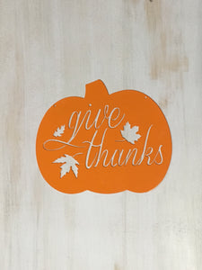 Pumpkin Give Thanks - Matarow