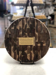 Acacia 13 inch Round Cutting Board - Matarow