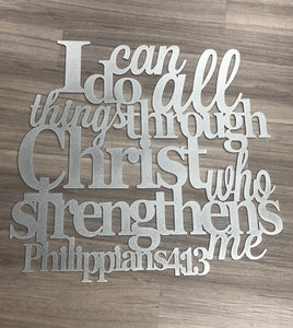I Can Do All Things - Philippians 4:13