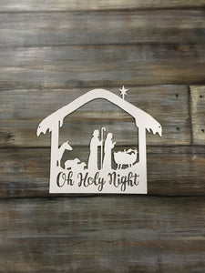 Oh holy night cut out - Matarow