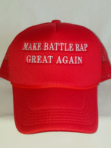 MAKE BATTLE RAP GREAT AGAIN Trucker Hat . ShopTLMBrand.com