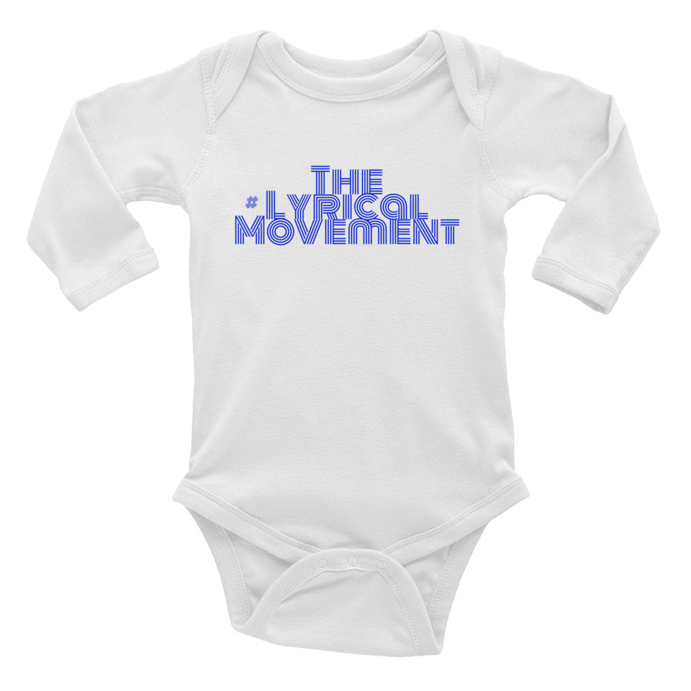 TLM Infant Long Sleeve Bodysuit TLMSnapbacks MDN86