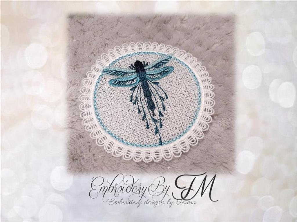 Wings earrings and mini pocket wings - FSL- 4x4 hoop