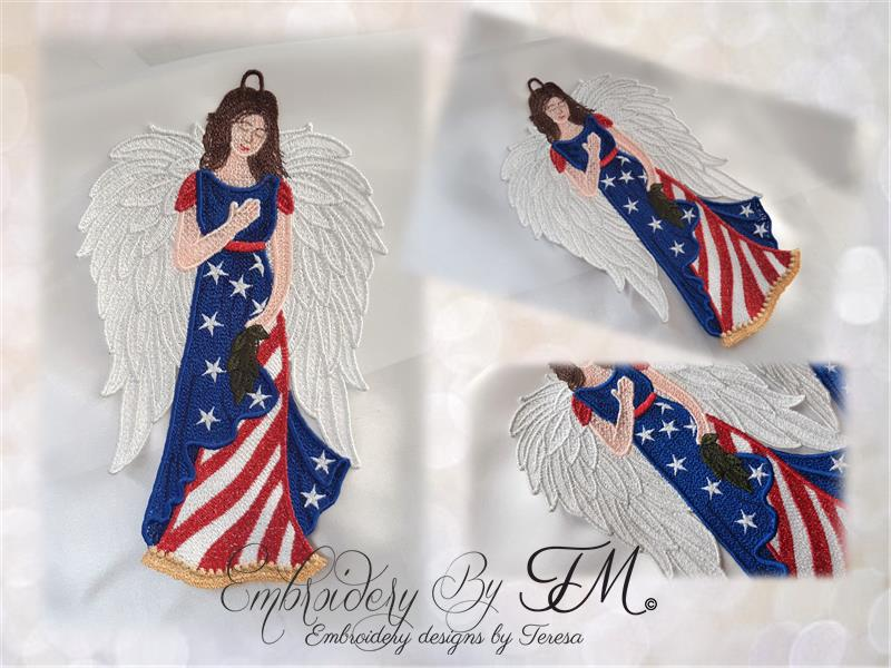 Dream catcher Tree of Life - (FSL / free standing lace / lace) / four sizes/ Two color variations