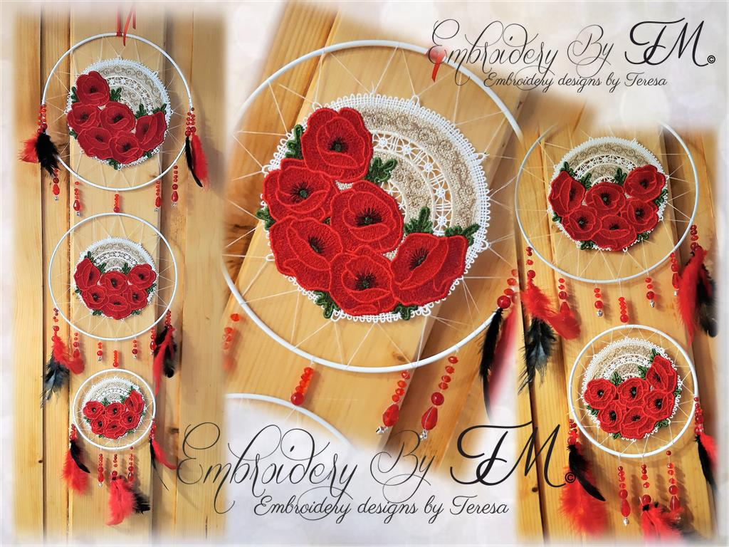 Crochet dream catcher FSL/  five sizes