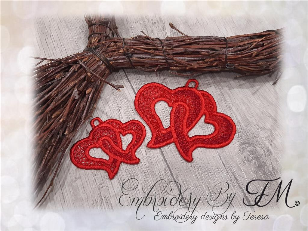 Photo frame with mistletoe / 4x4 hoop