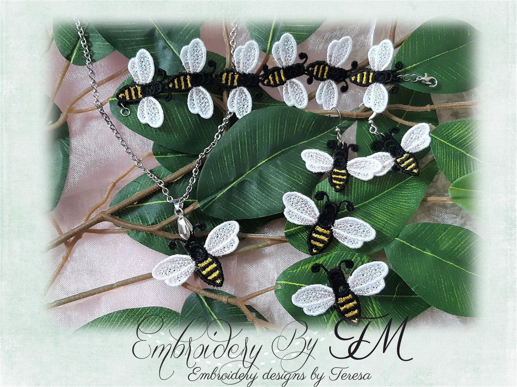 Honey Bee jewelry FSL