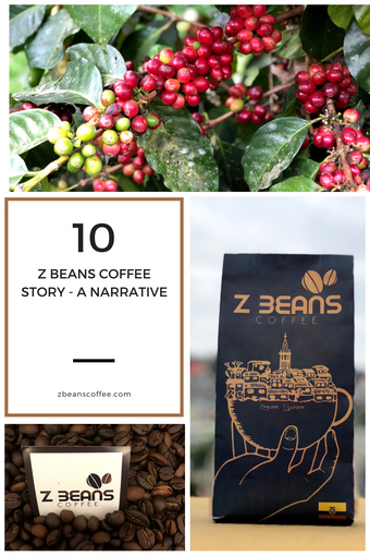 The Z Beans Coffee Story - A Narrative