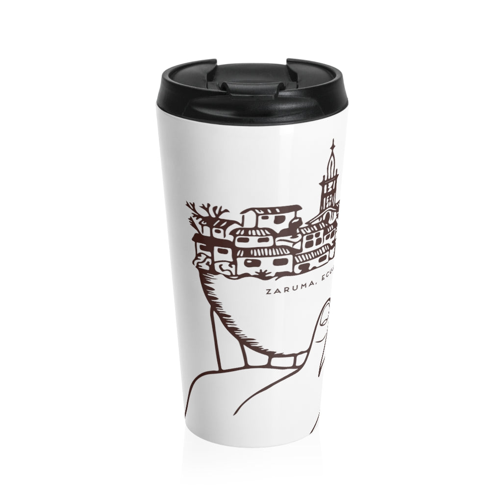Z Beans Coffee Stainless Steel Travel Mug