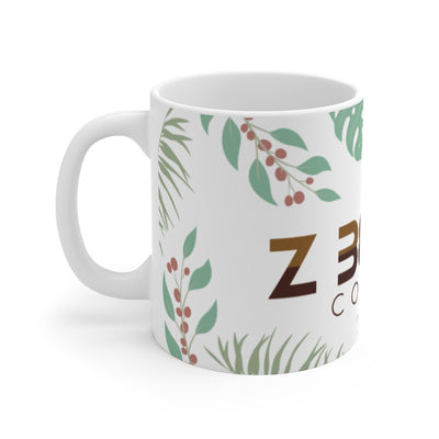 Leaf Logo - 11oz. Mug by Ashley Padilla