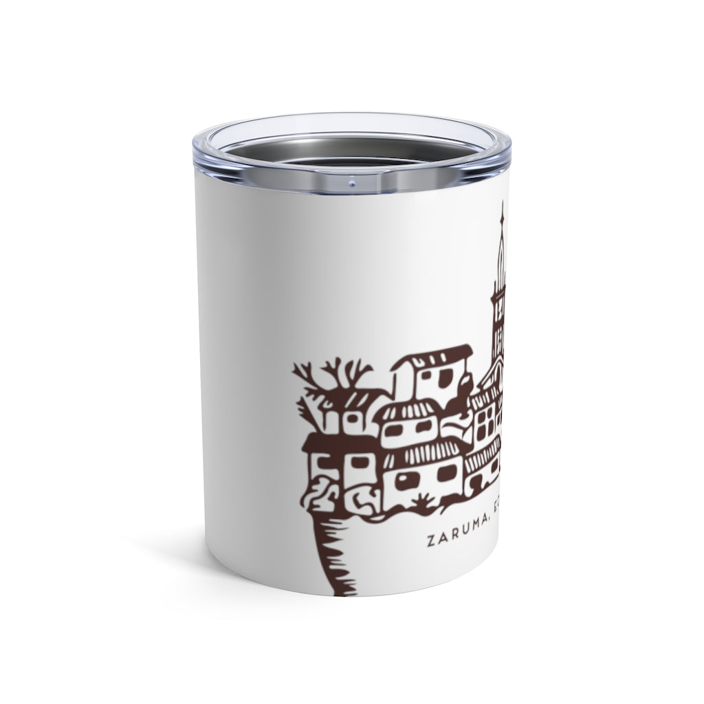 Z Beans Coffee Stainless Steel 10oz. Tumbler