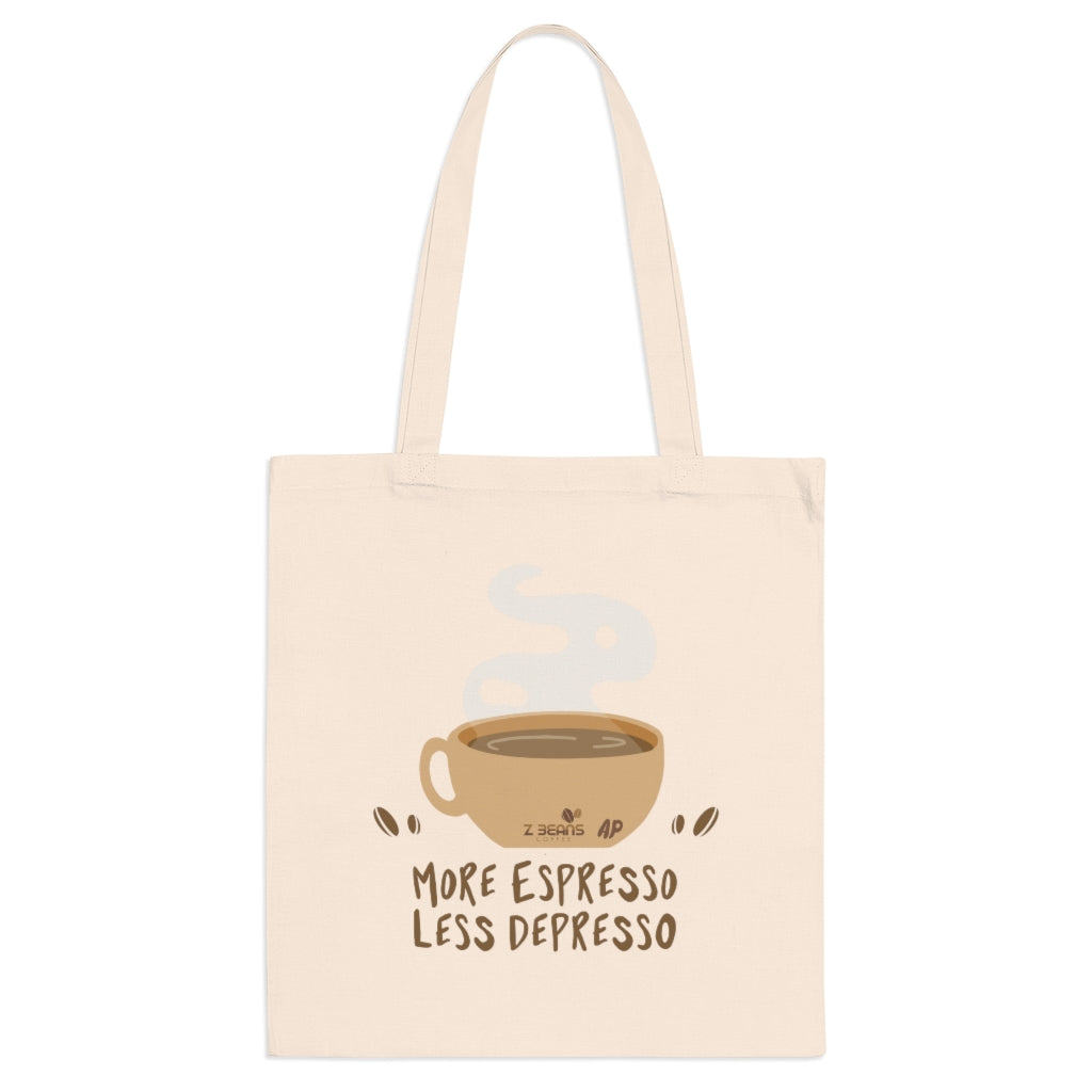 More Espresso Less Depresso - Tote Bag by Ashley Padilla