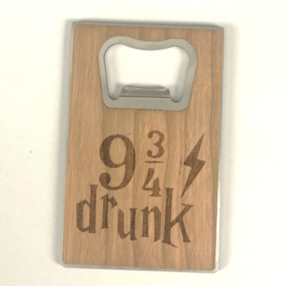 Potter Inspired Bottle Opener