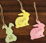 Easter Bunny Basket Tag
