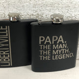 Father's Day Flask