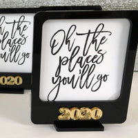 Class of 2020 Polaroid Photo Frame
