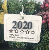 "2020 ""One Star"" Ornament"